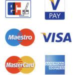 Zahlung per EC oder Kreditkarte