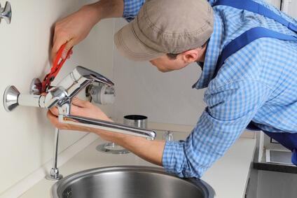 Wasserhahn Sanitär Armaturen wechseln